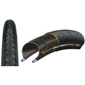 Continental Super Sport Plus Tyre 700 x 23C, wire bead black